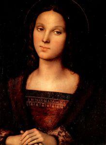 Maria Magdalena von Pietro Perugino